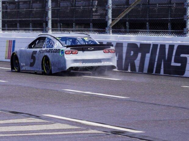 NASCAR: Regenreifen-Test in Martinsville