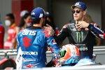 Fabio Quartararo (Yamaha) und Alex Rins (Suzuki)