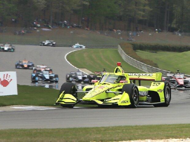 IndyCar-Action 2021 im Barber Motorsports Park
