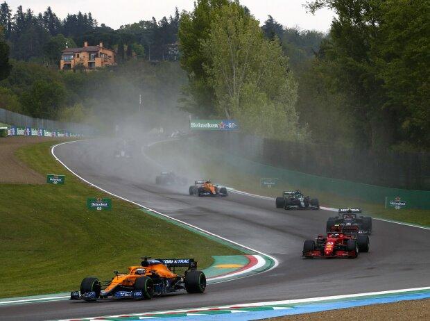 Daniel Ricciardo, Carlos Sainz, Pierre Gasly