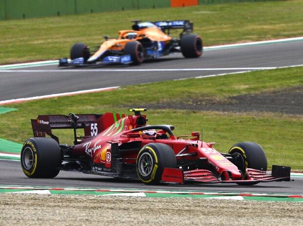 Carlos Sainz Ferrari Imola
