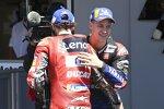 Fabio Quartararo (Yamaha) und Francesco Bagnaia (Ducati)