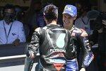 Fabio Quartararo (Yamaha) und Franco Morbidelli (Petronas)