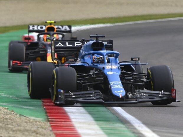 Fernando Alonso, Sergio Perez
