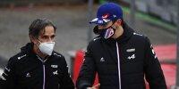Davide Brivio Esteban Ocon Alpine
