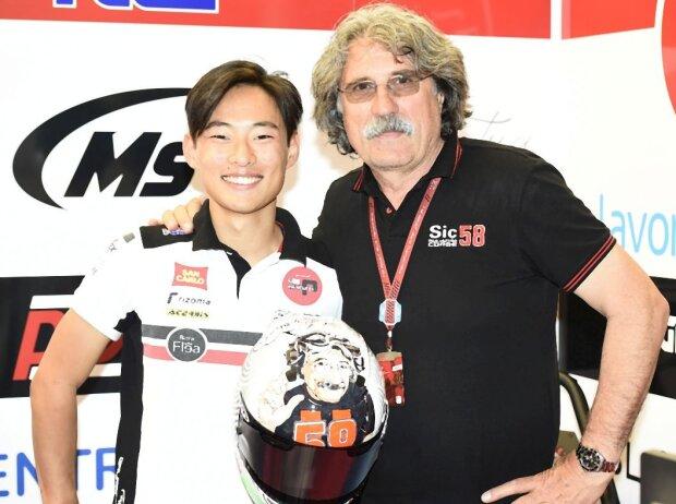 Tatsuki Suzuki, Paolo Simoncelli