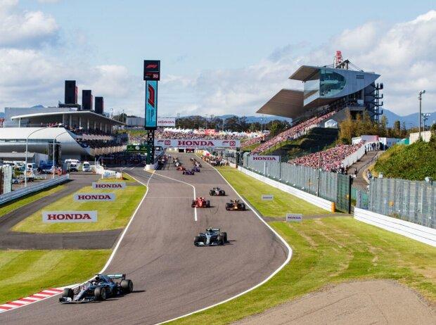 Lewis Hamilton, Valtteri Bottas, Max Verstappen