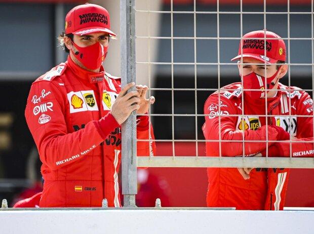 Carlos Sainz, Charles Leclerc