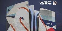 WRC 10: PS5 und Xbox Series-Konsole im besonderen Design