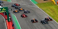 Lewis Hamilton, Max Verstappen, Sergio Perez