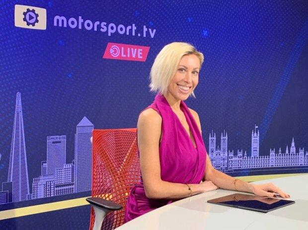 Rachel Downie, Motorsport.tv Live