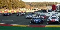 Gruppenfoto: Autos für die WEC-Saison 2021 beim Prolog in Spa