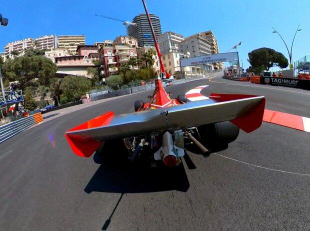 Jean Alesi Monaco Ferrari 1974