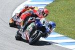 Alex Marquez () und Marc Marquez (Honda)