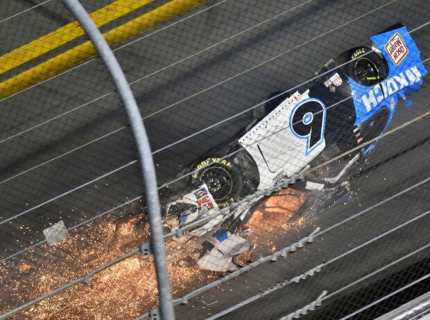 Crash: Ryan Newman beim Daytona 500 des Jahres 2020