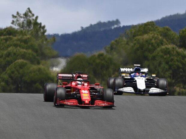 Charles Leclerc, George Russell