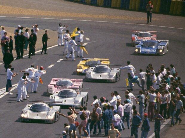 Zieldurchfahrt 24h Le Mans 1989