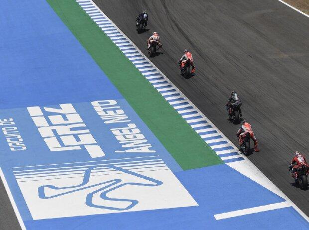 MotoGP-Action in Jerez