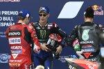 Jack Miller (Ducati), Fabio Quartararo (Yamaha) und Franco Morbidelli (Petronas)