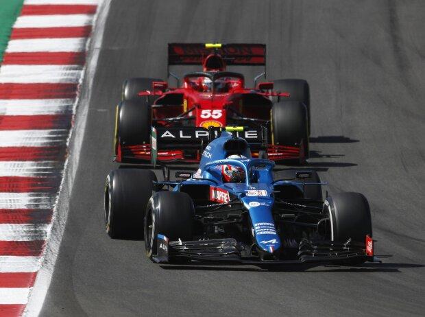 Esteban Ocon, Carlos Sainz