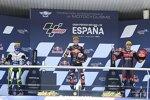 Pedro Acosta (Ajo), Romano Fenati (Max Racing) und Jeremy Alcoba (Gresini)