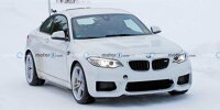 BMW M2 Erlkönig mit Elektroantrieb