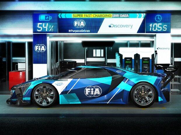 FIA Electric GT Studie