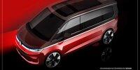 VW T7 Multivan Teaser