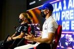 Mick Schumacher (Haas) und Valtteri Bottas (Mercedes)