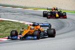 Daniel Ricciardo (McLaren) und Sergio Perez (Red Bull)