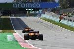 Lando Norris (McLaren) und Daniel Ricciardo (McLaren)
