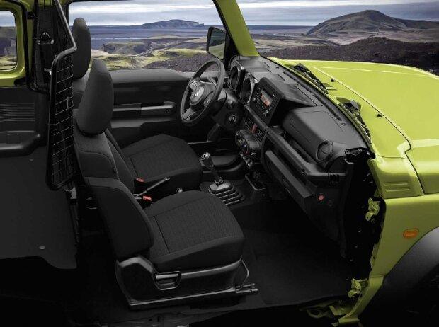 Suzuki Jimny startet als Nutzfahrzeug