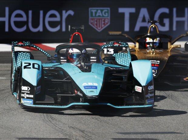 Mitch Evans und Antonio Felix da Costa beim Rennen der Formel E in Monaco 2021