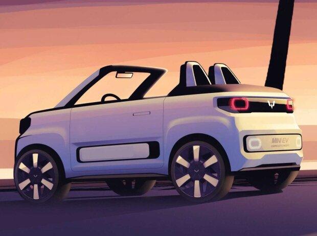 Wuling Hongguang Mini EV Cabrio kommt als FreZe Froggy nach Europa