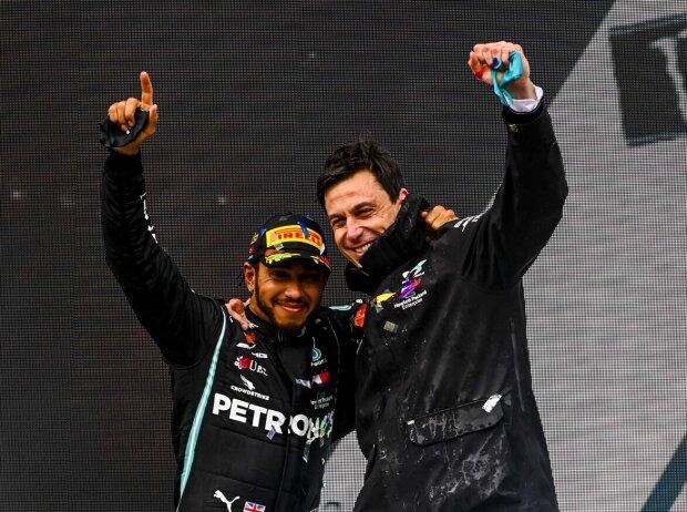 Lewis Hamilton, Toto Wolff