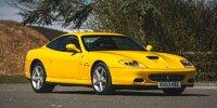 2003 Ferrari 575M Maranello F1, früherer Besitzer Eric Clapton