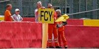 Full Course Yellow, FCY, Schild, Streckenposten, Sportwarte, Marschalls