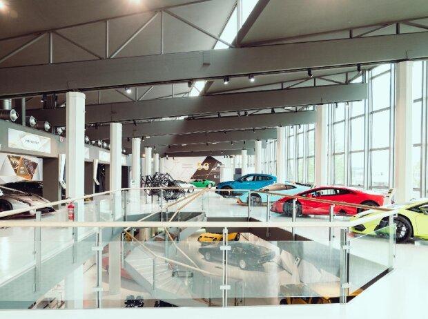 Das MUDETEC, das Museum von Automobili Lamborghini