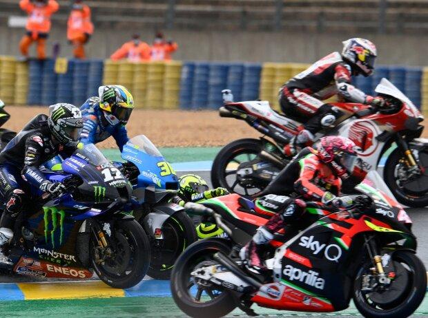 Chaos beim Start zum GP Frankreich 2020 in Le Mans