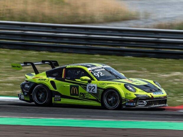Laurin Heinrich beim Rennen des Porsche-Carrera-Cup in Oschersleben 2021