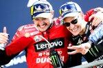 Jack Miller (Ducati) und Fabio Quartararo (Yamaha)