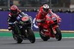 Fabio Quartararo (Yamaha) und Jack Miller (Ducati)