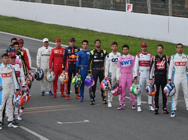 Formel-1-Fahrerfoto 2020