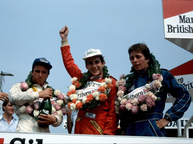 Brundle Senna