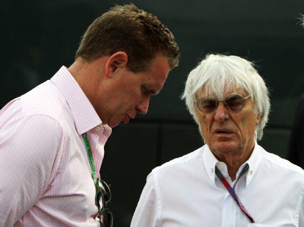 Ian Holmes, Bernie Ecclestone