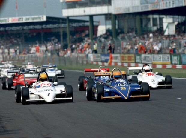 Senna und Brundle