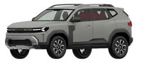 Dacia Bigster (Patentzeichnungen)