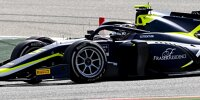 Daniel Ticktum beim Rennen der Formel 2 in Bahrain 2021