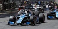 Guanyu Zhou beim Start des Formel-2-Rennens in Monaco
