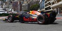 Liam Lawson beim Freitagsrennen der Formel 2 in Monaco 2021